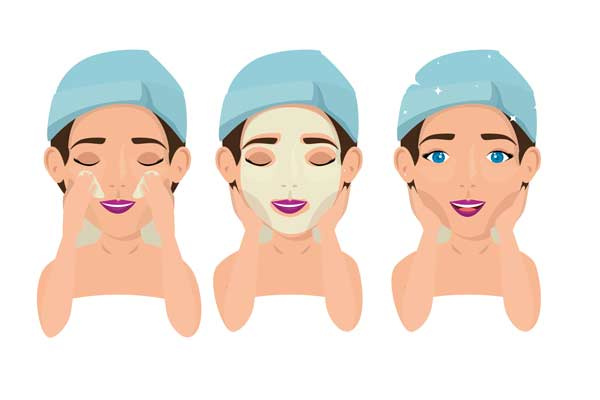 ماسک مغذی پوست