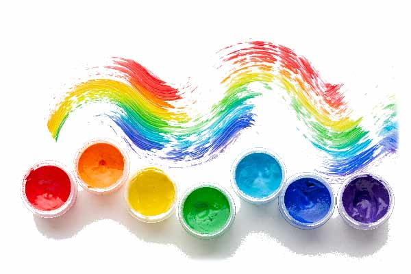 طبع رنگها