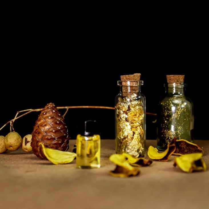 ماسک جلبک و طلا (ضد جوش صورت)